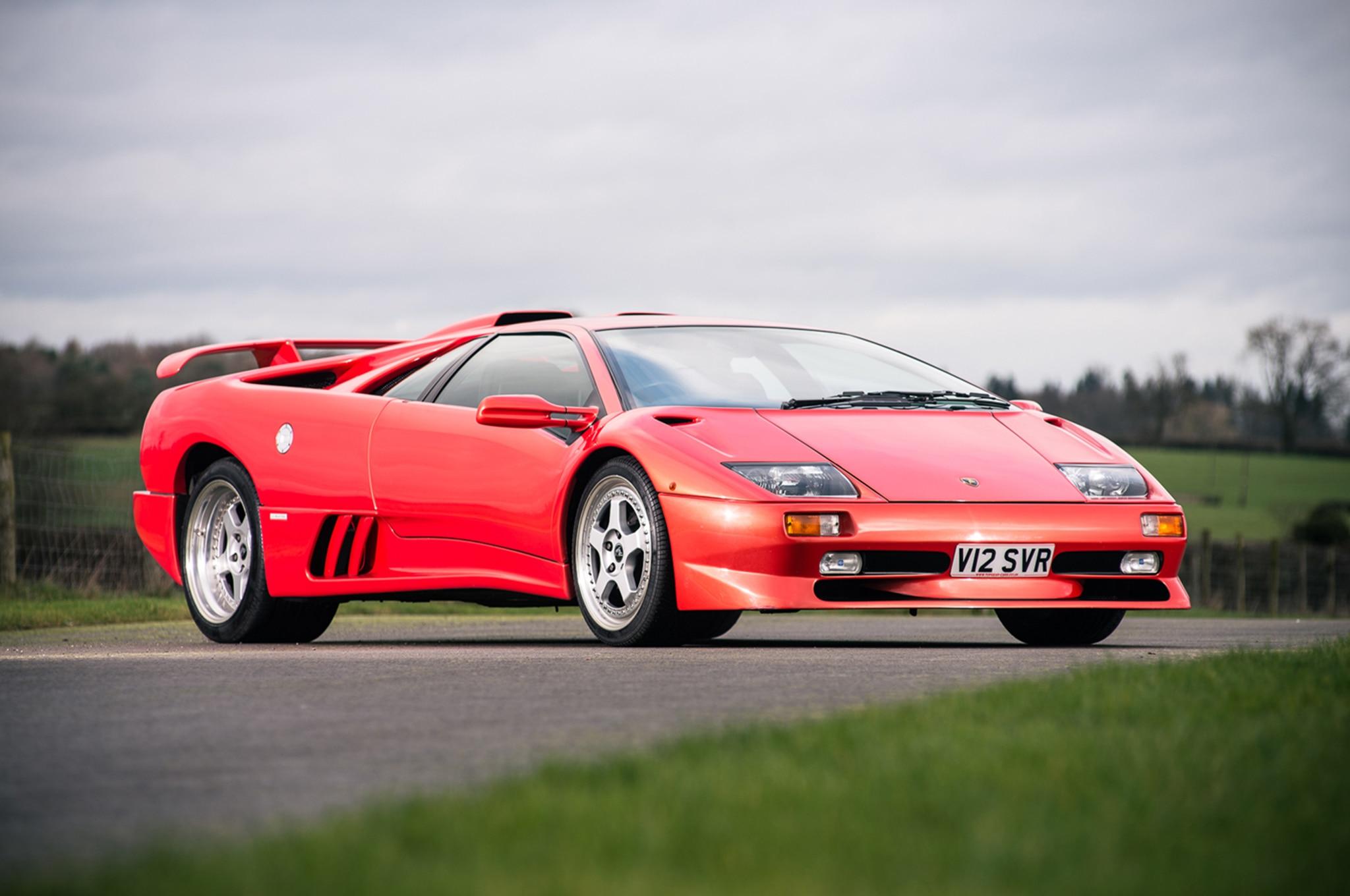 Last Pre Vw Era Lamborghini Diablo Sv Headed To Auction