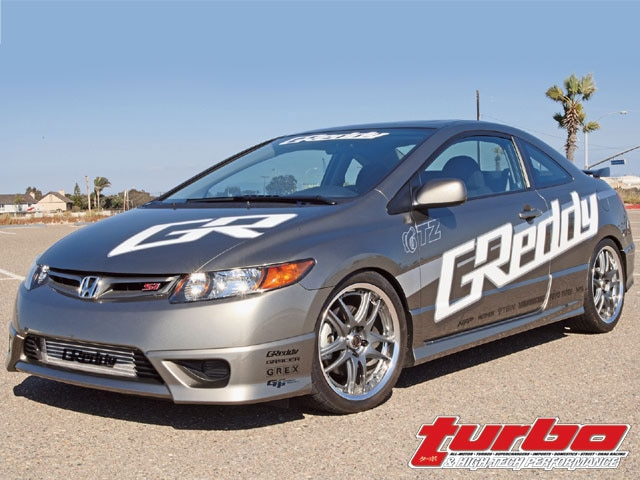 2007 Honda Civic Si - A New SI, Another Turbo Kit