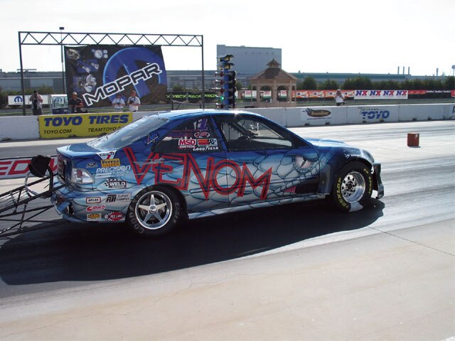 Drag Racing With Nitrous - Armed And Dangerous - Honda