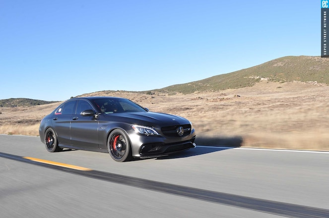 2016 Mercedes Amg C63 Passenger Side Front View