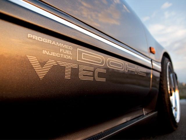DOHC VTEC PROGRAMMED FUEL INJECTION sticker honda tupe r mugin civic JDM OEM
