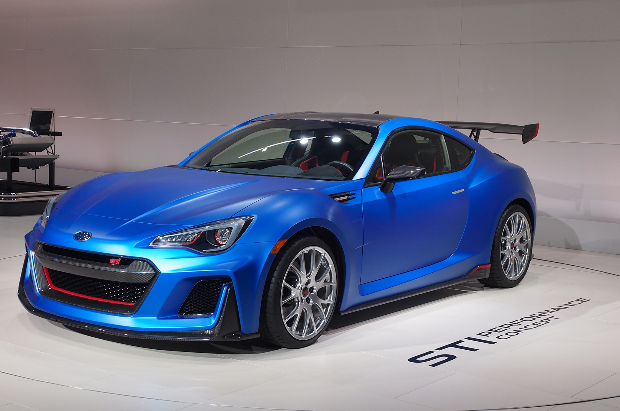 Subaru Brz Sti Performance Concept Front Three Quarter 02