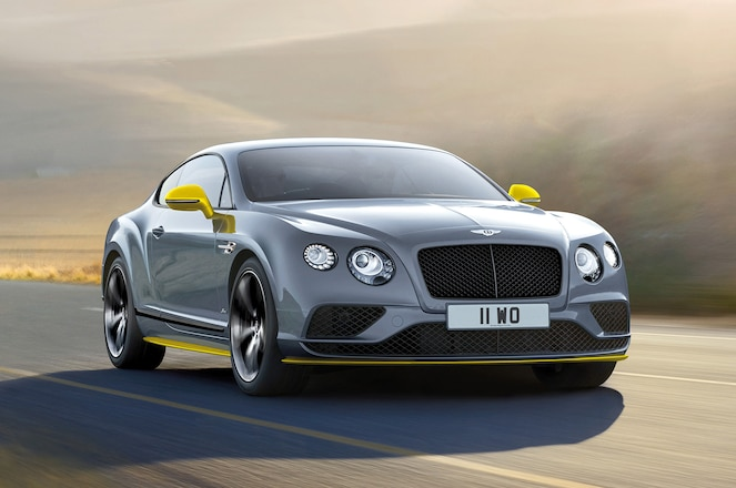 Bentley Continental GT Speed Black Edition coupe front three quarter2