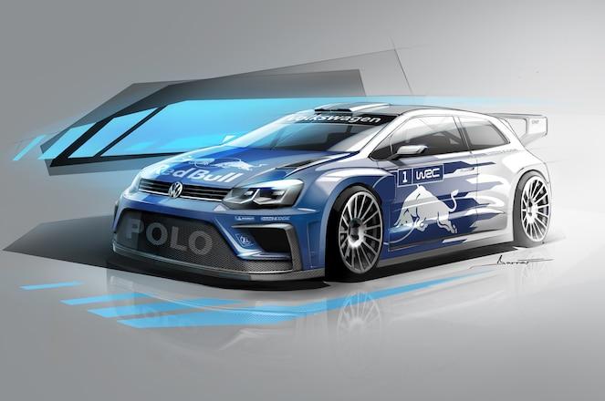 2017 Volkswagen Polo R WRC sketch