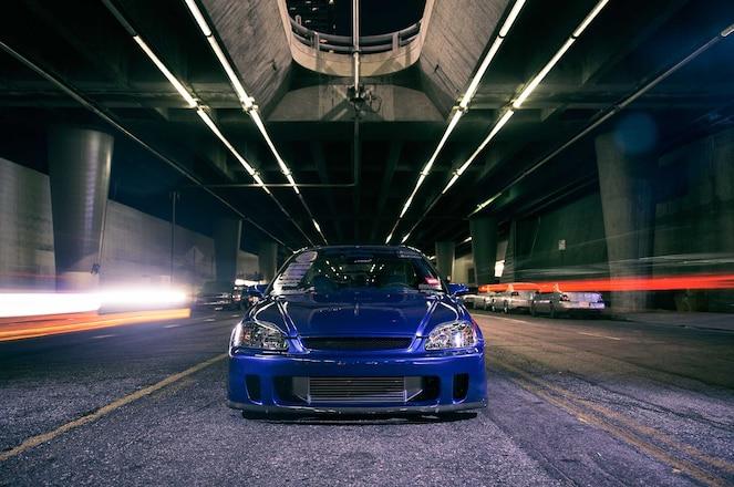 1999 Honda Civic Si Backyard Special Front Bumper