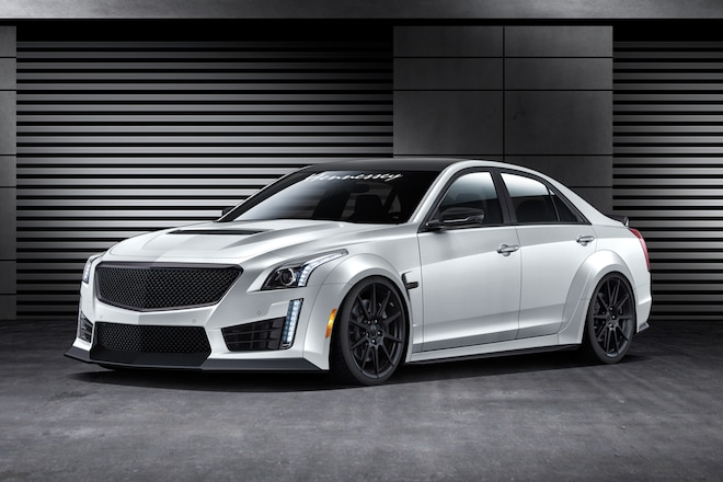 2016 Hennessey CTS V Front