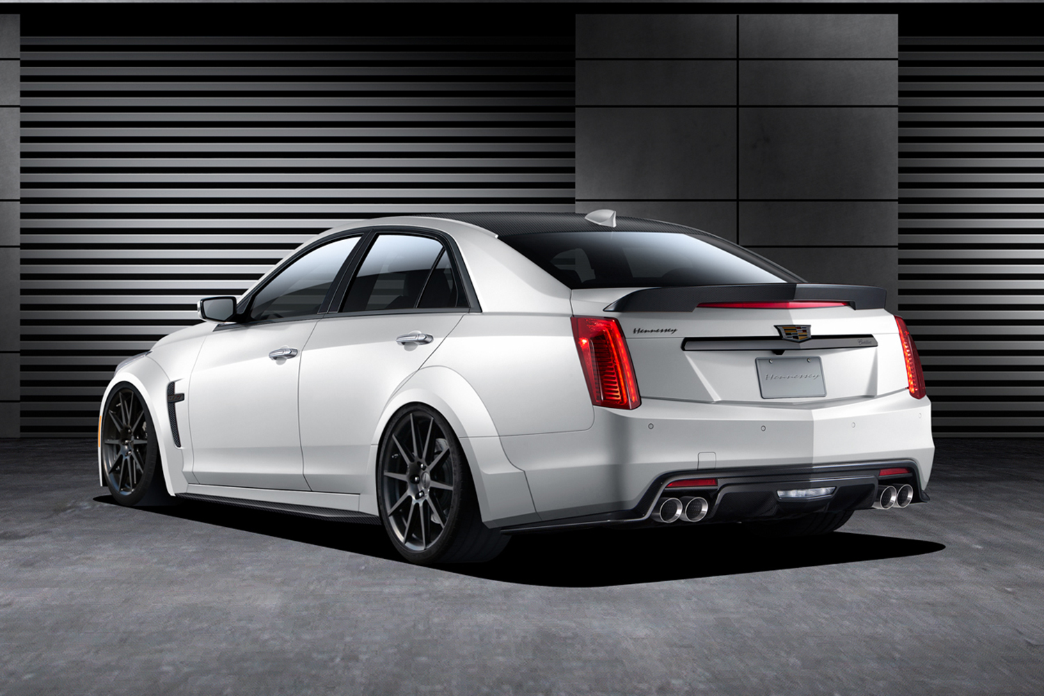 2016 Hennessey Cts V Rear