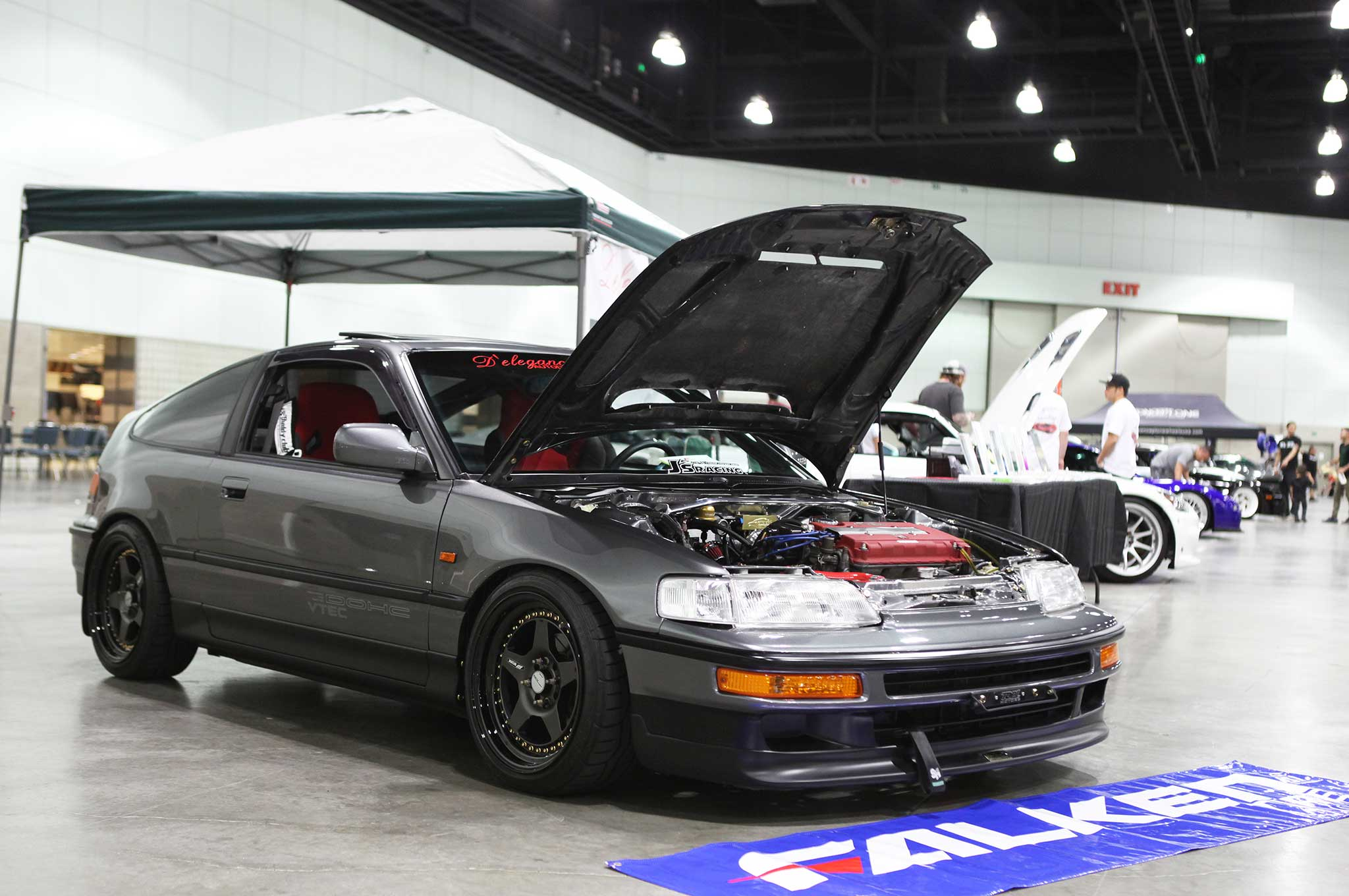 Top 9 Hondas From Autocon La 2016 Honda Crx Front