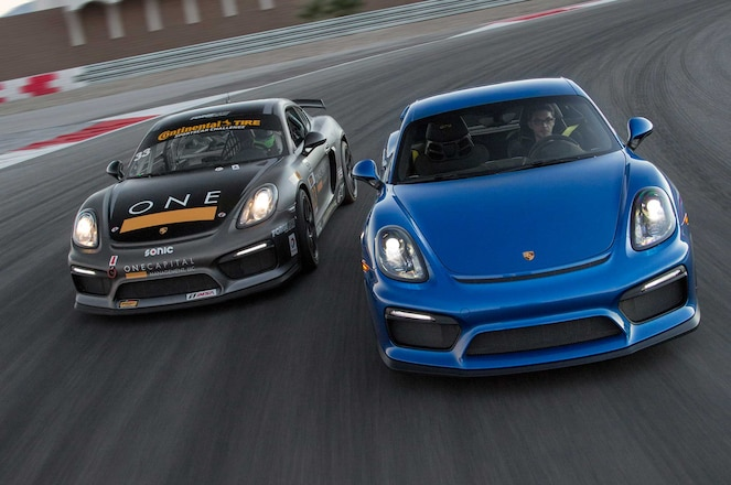 Porsche Cayman Gt4 Vs Gt4 Clubsport