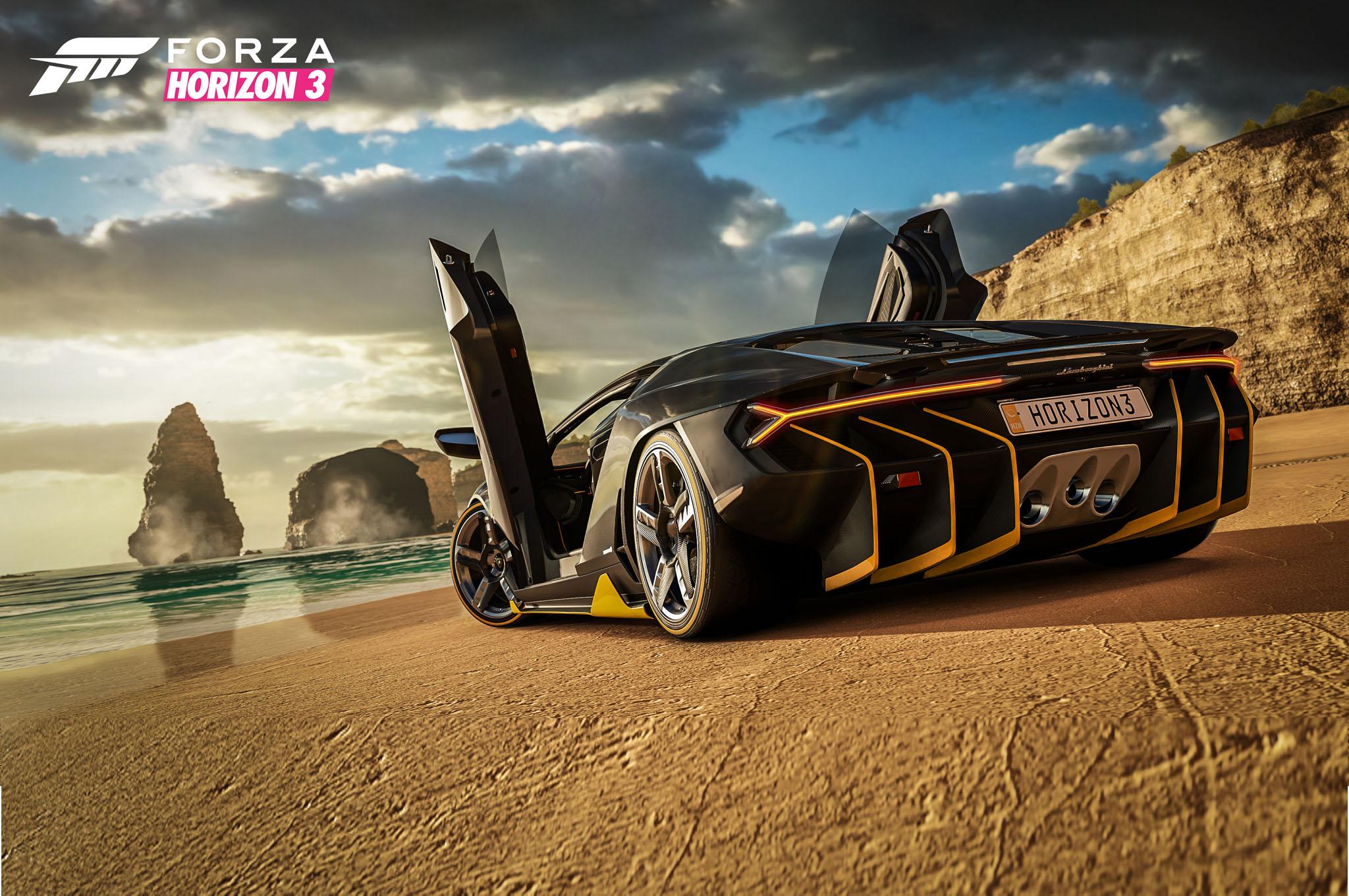 Forza Horizon 3 Lets You Drive The Lamborghini Centenario In Australia