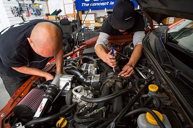 FR-S Jackson Racing Supercharger Install - Oscar Bravo Foxtrot
