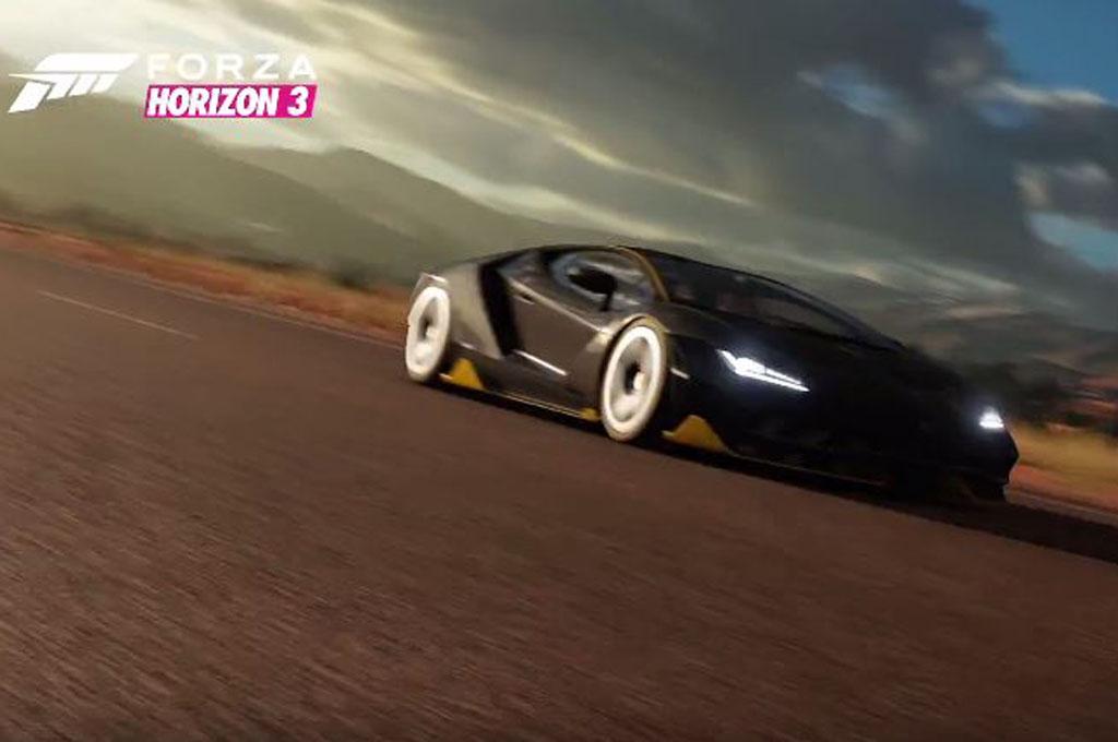 Forza Horizon 3 Lets You Drive The Lamborghini Centenario In
