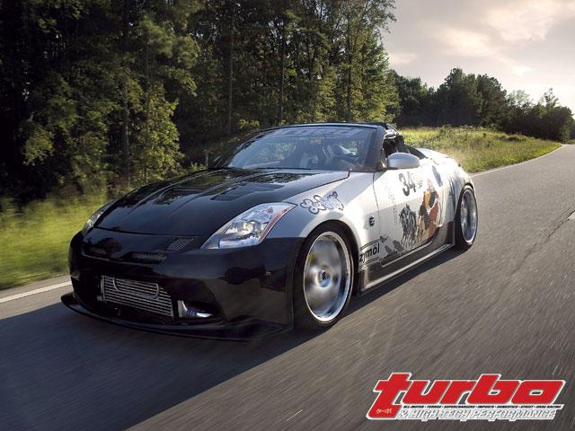 Nissan 350Z - Greddy Twin Turbo - Turbo & High-Tech Performance