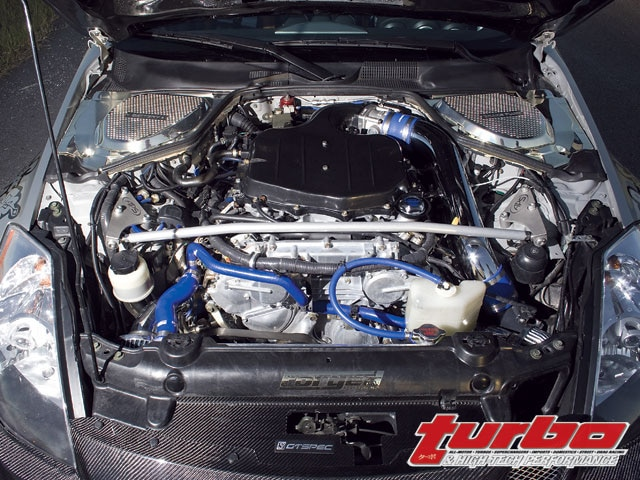 Nissan 350Z - Greddy Twin Turbo - Turbo & High-Tech Performance