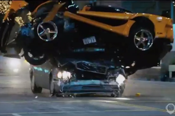 Mazda RX 7 Fast and Furious crashes compilation video