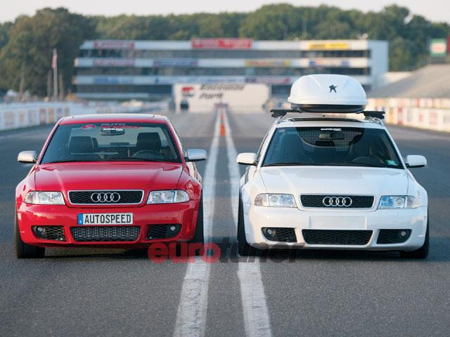 2001 Audi S4 Avant and 2000 Audi S4 - Iron Chefs - Eurotuner MagazineSuper Street