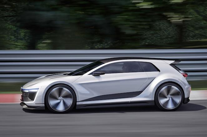 Volkswagen Golf GTE Sport Concept Profile 1