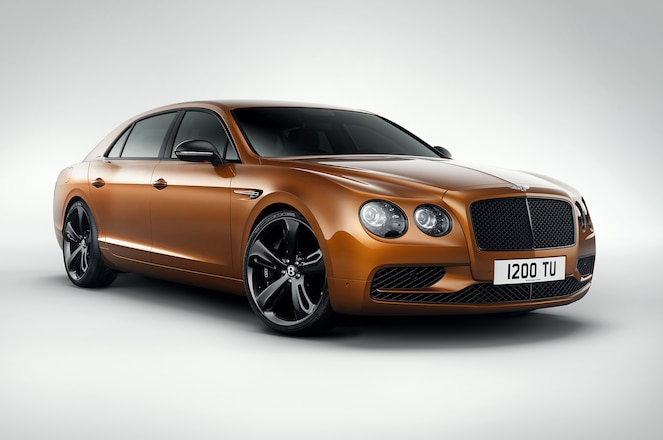Bentley Flying Spur W12 S front three quarter 1