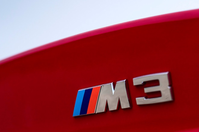 1999 E36 Bmw M3 Trunk Badge
