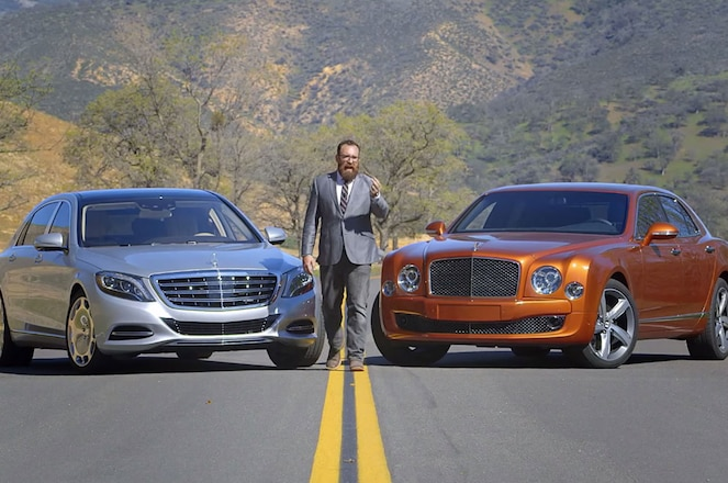 2016 Mercedes Maybach S600 and Bentley Mulsanne Speed
