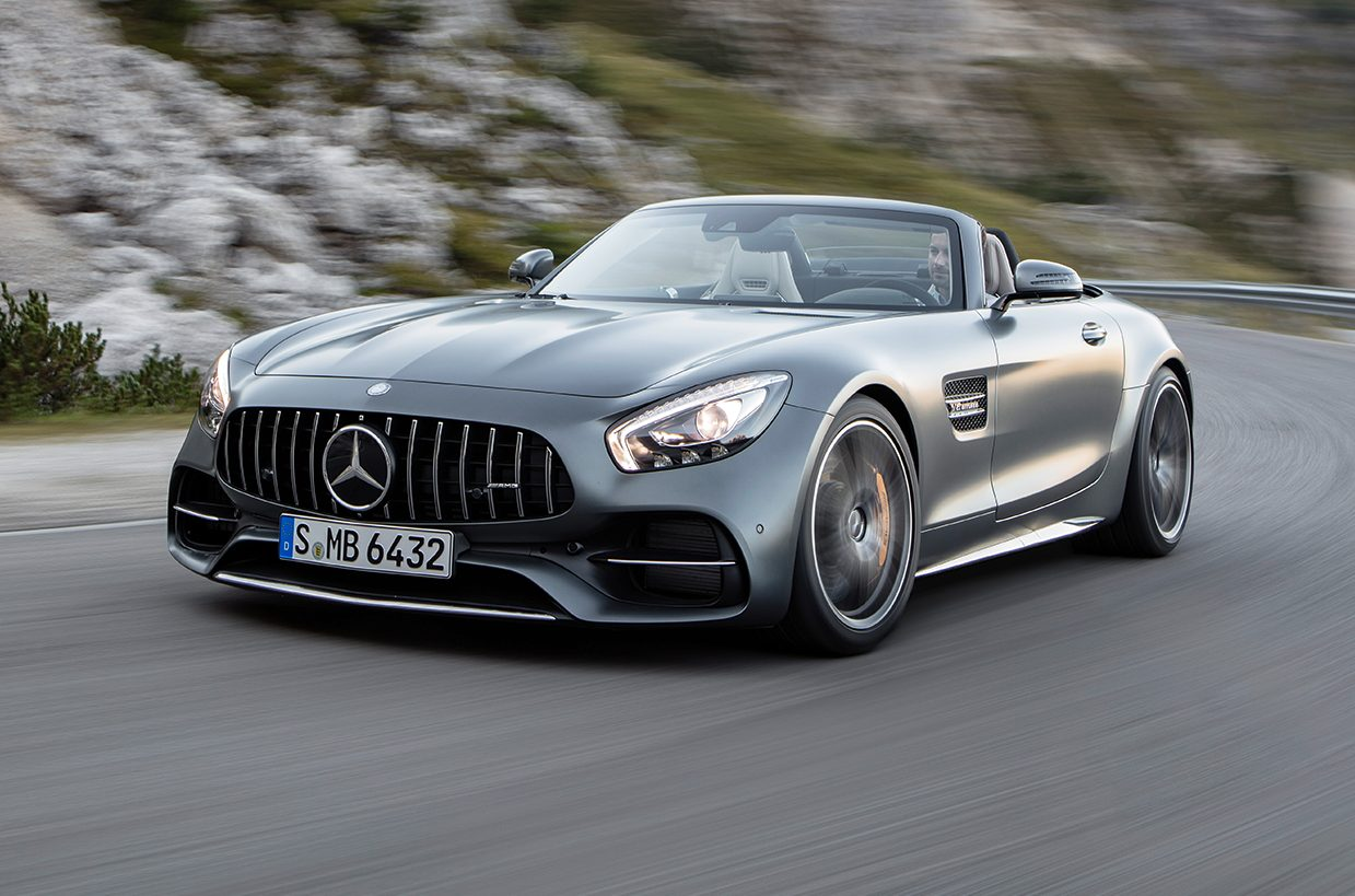 Mercedes Amg Gt C Gt Roadster Revealed Ahead Of Paris Debut