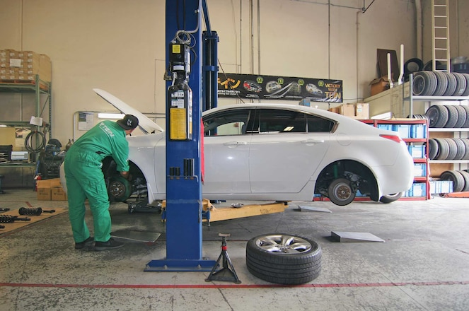 Tein Rd Acura Tl Japanese Coilover Test