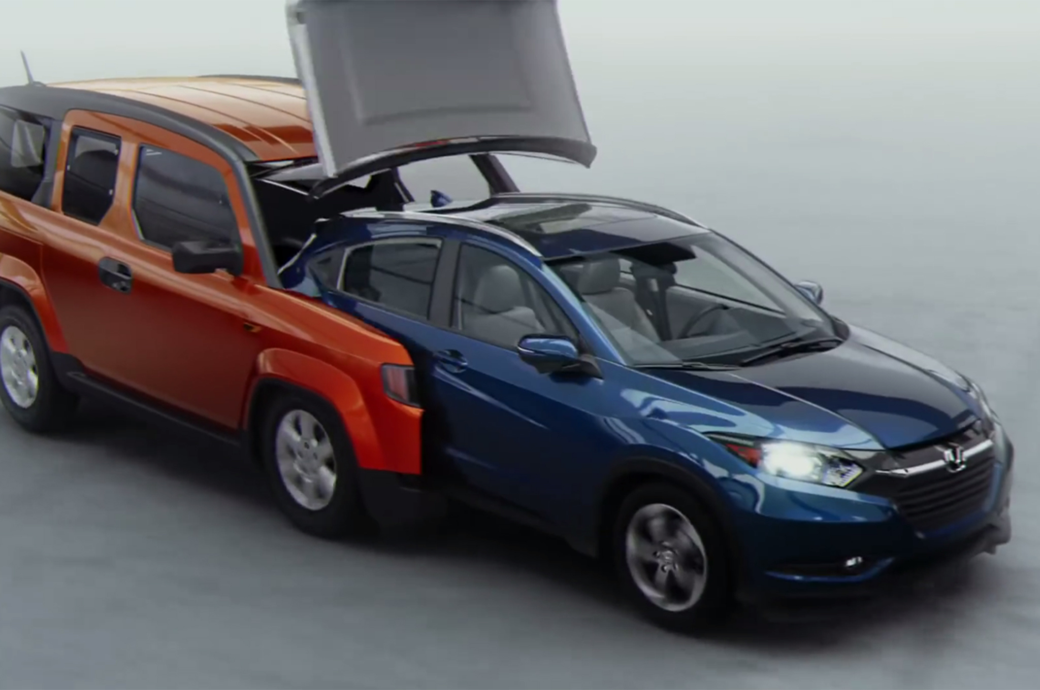2016 Honda Element >> Watch 2016 Hr V Ad Features 7 Hondas From The Past