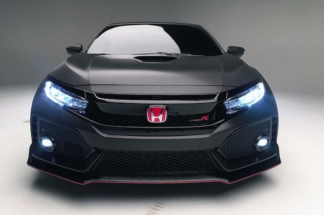 Honda Civic Type R Honda Front Bumper