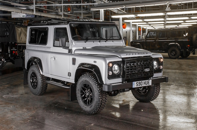 Land Rover Defender 2 Million Front Three Quarter 02
