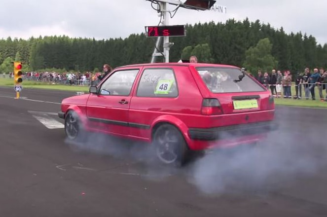 Volkswagen Golf Mark II with 600 HP Screenshot