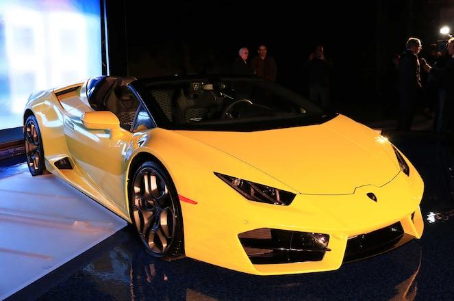 2017 Lamborghini 580 2 Spyder Front Bumper