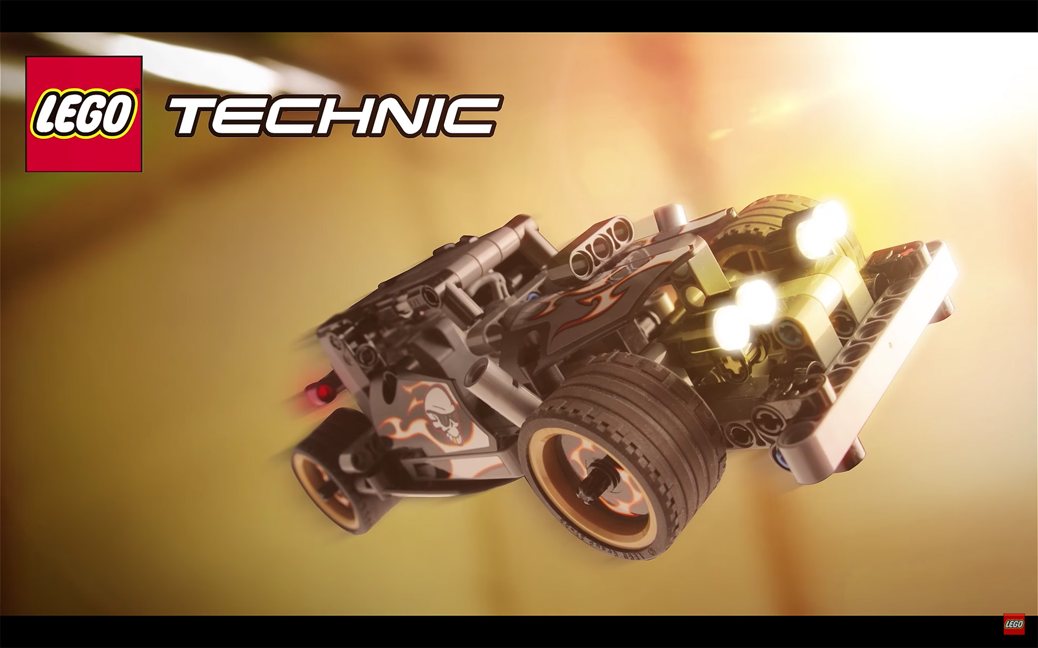 Lego Technic Getaway Racer Featured In New Video