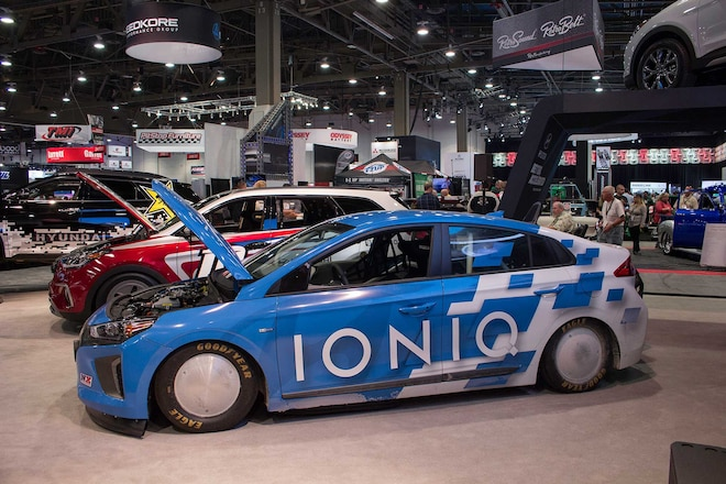 Hyundai At The 2015 Sema Show Ioniq