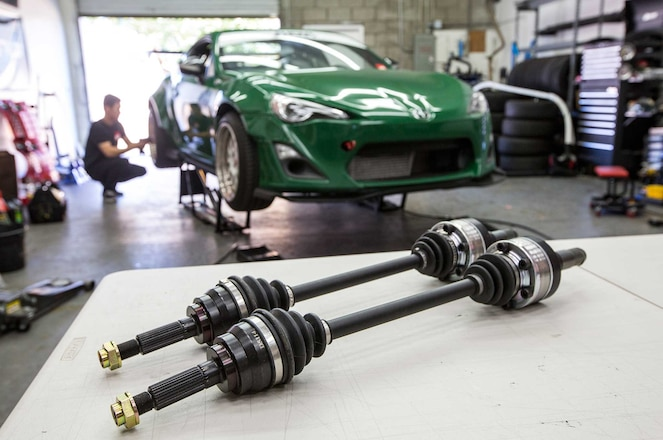 Scion Frs Axle Replacement