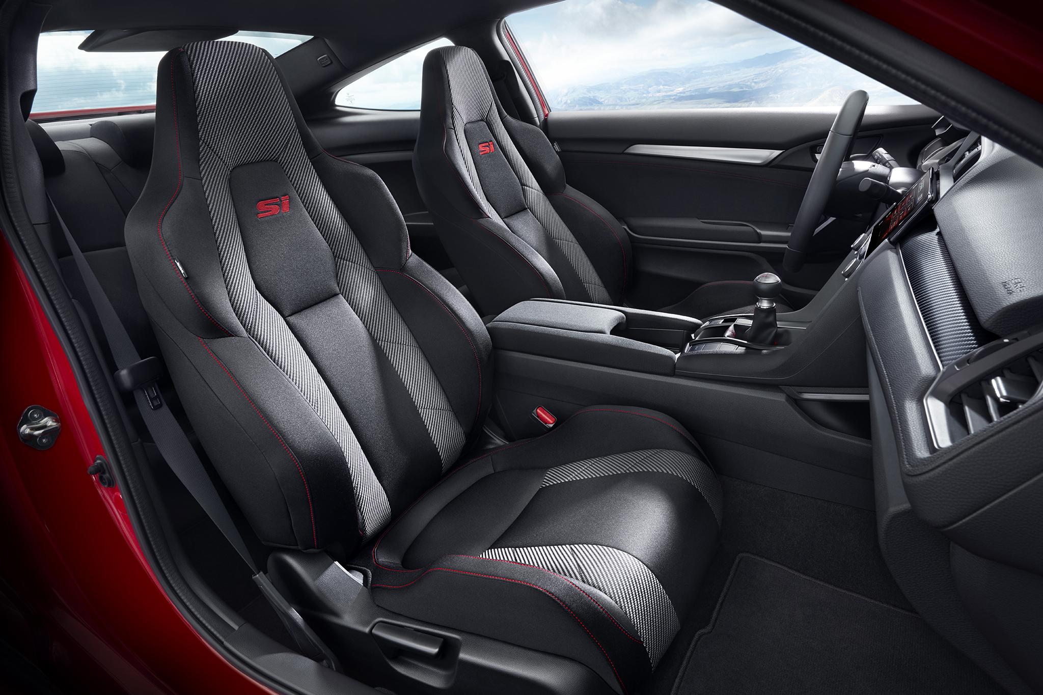 Honda Civic Si Seats
