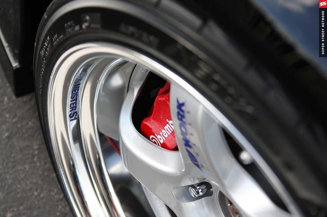 Wider Wheels Brembo Caliper