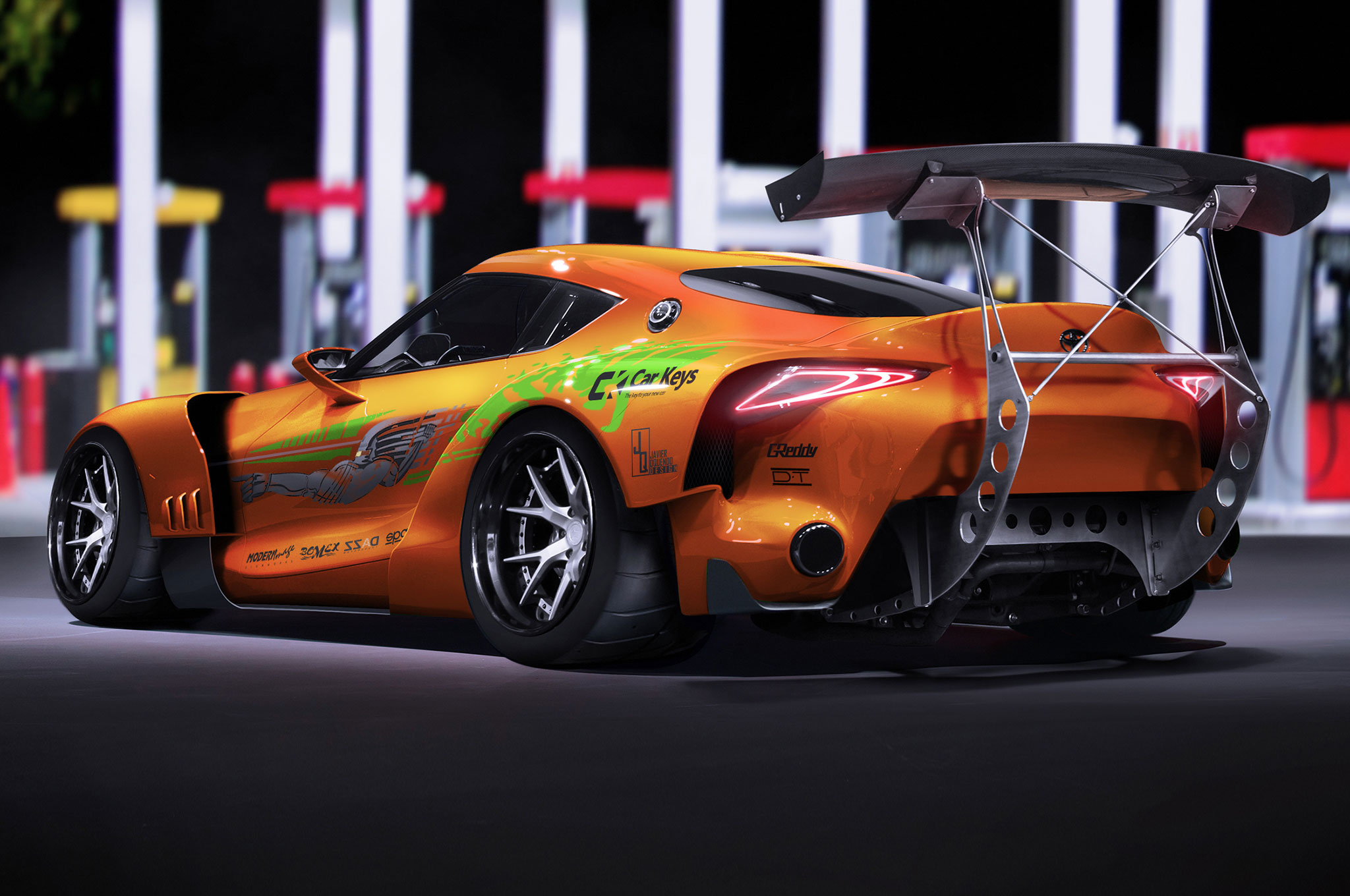 Renders Bring Cars From The Fast And The Furious Up To 2017 Spec