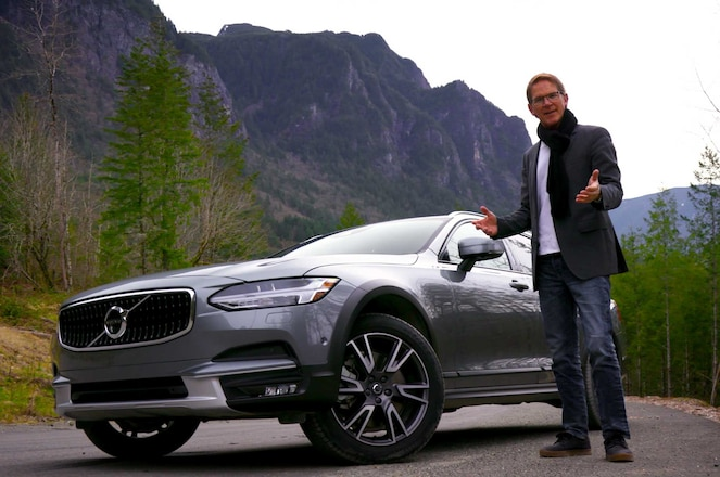 Ignition Tests 2017 Volvo V90 Cross Country Randy Pobst
