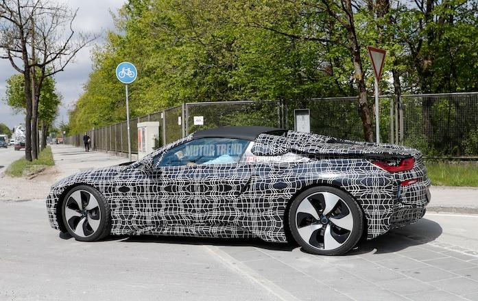 BMW i8 Spyder prototype 03