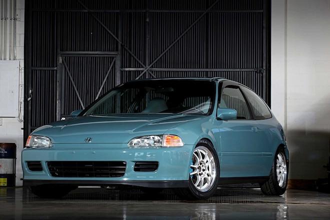 1994 Honda Civic Si Front Bumper
