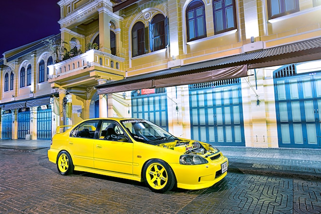 1996 Honda Civic Ek Sedan Type R Side Skirts