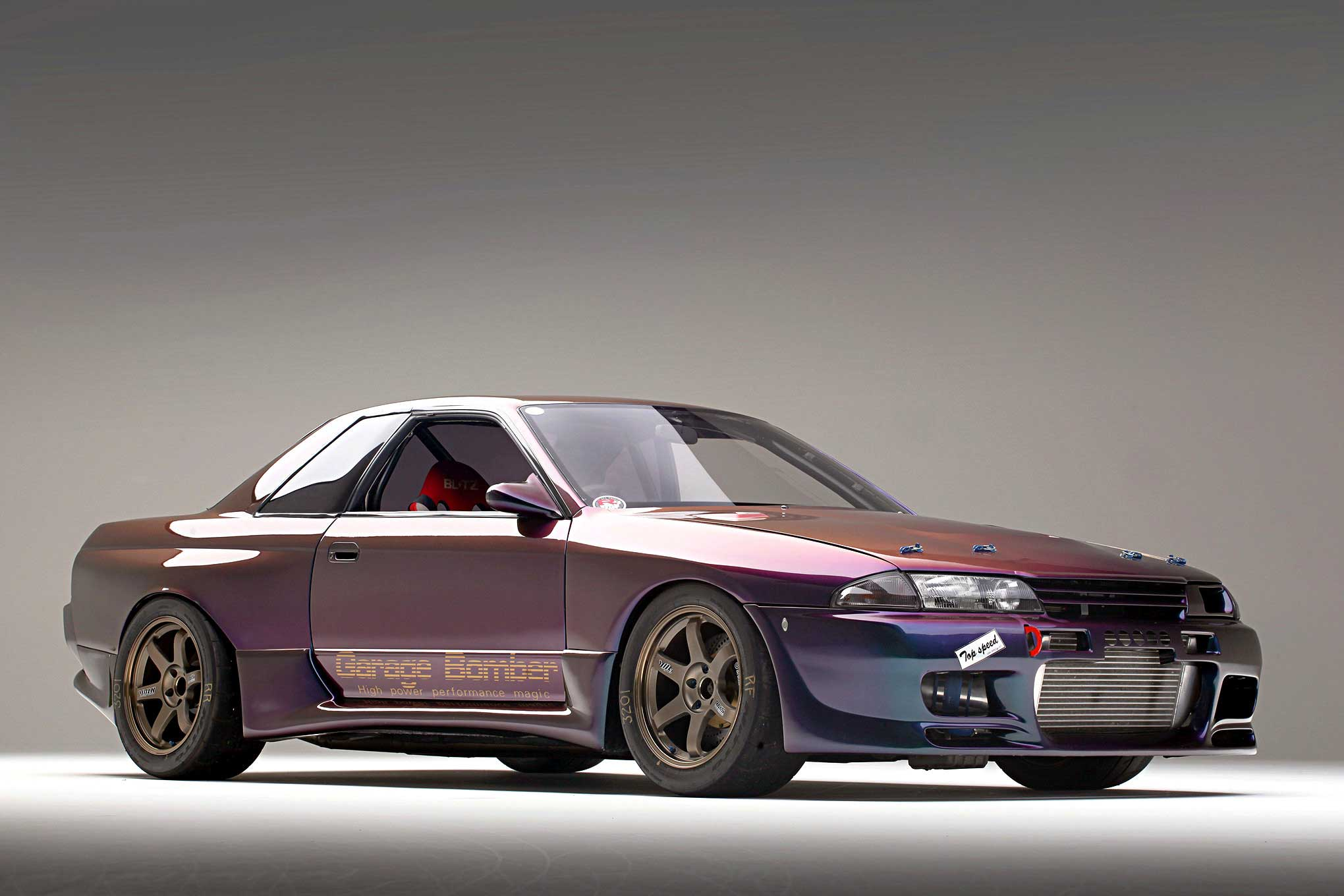 Aki Fuchigami's 1991 Nissan Skyline GTR - R32 Bomber