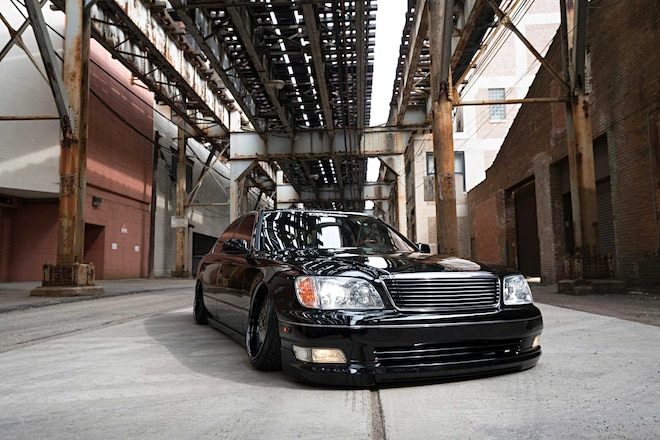 2000 Lexus Ls400 Wald International Lip Kit