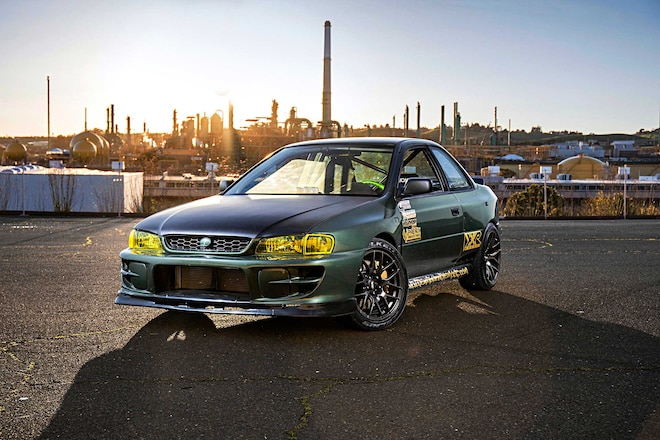 1995 Subaru Impreza L Depo Headlights