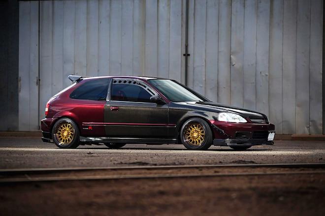 1997 Honda Civic Ag Wheels