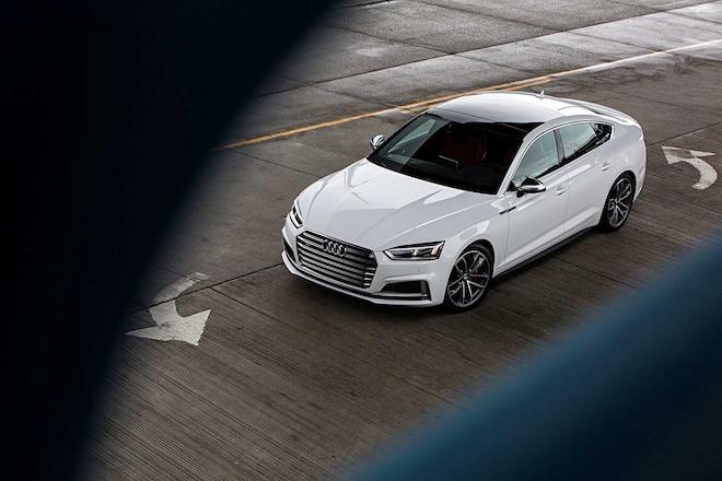 2018 Audi S5 Top View