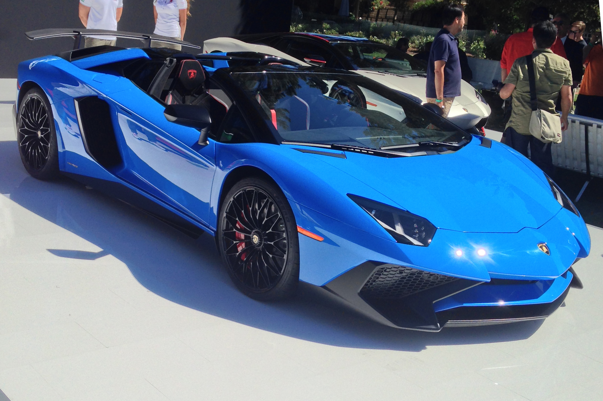 530k Lamborghini Aventador Sv Roadster Unveiled