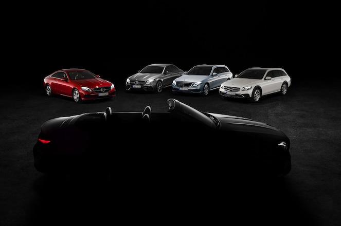 Mercedes Benz E Class Cabriolet Geneva teaser