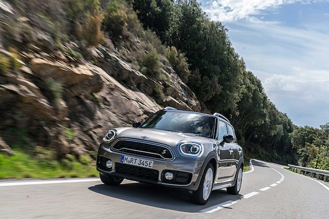 2018 Mini Cooper S E Countryman All4 Front Bumper