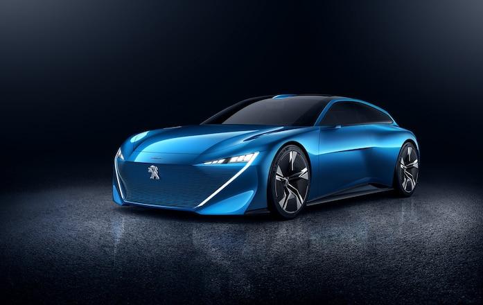 Peugeot Instinct Concept Front Three Quarter